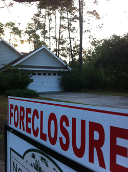 Foreclosures are down from a year ago