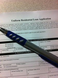 Mortgage Application - Housing Being Stifled by Lending Restrictions