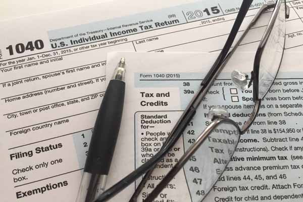 Looking at Scottsdale tax deductions for late filers for 2015