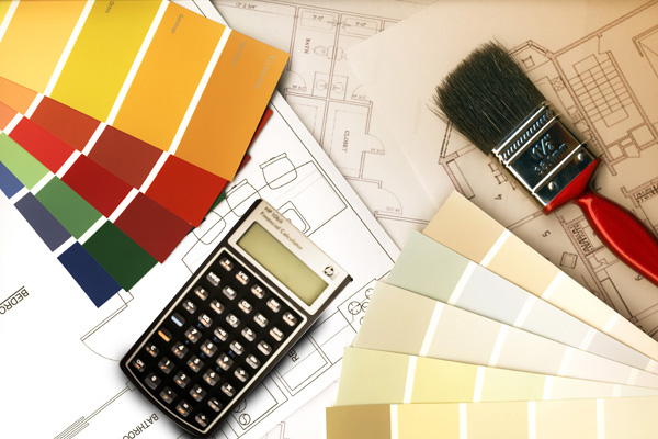 Metro atlanta home improvement calculating room costs for House paint calculator