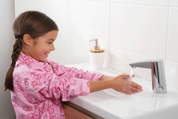 Gulf Shores home technology feature demands include touchless bathroom and kitchen faucets