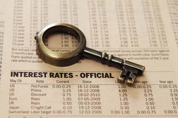 Scottsdale real estate interest rates have risen slightly over the past couple of months.