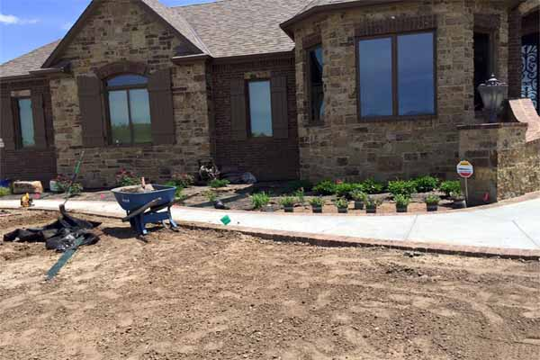 A Lake Minnetonka home improvement project doesn't usually include landscaping your new home, but it should.