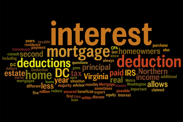 A first time Scottsdale home buyer can deduct mortgage interest on their taxes
