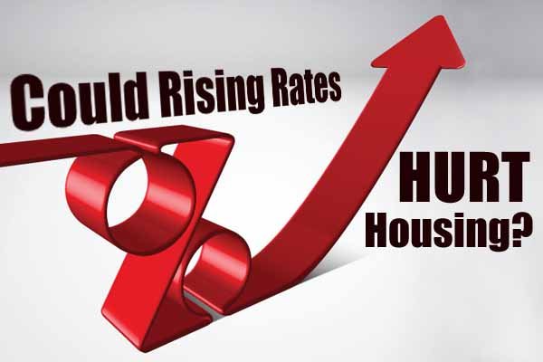 Scottsdale housing could be affected by rising interest rates.