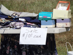 Your Long Island NY home spring cleaning list should include having a yard sale