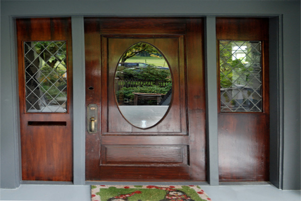 An easy Metro Atlanta home improvement could be to paint, re-finish, or replace your front door.