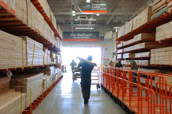 Increased Metro Atlanta home improvement activity has meant record sales for big box stores Home Depot and Lowes.